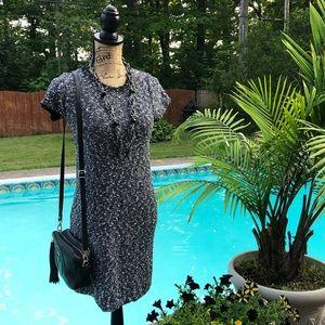Ann Taylor Short Sleeve Dress Small Petite